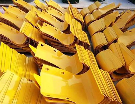 喷塑端头(黄色)