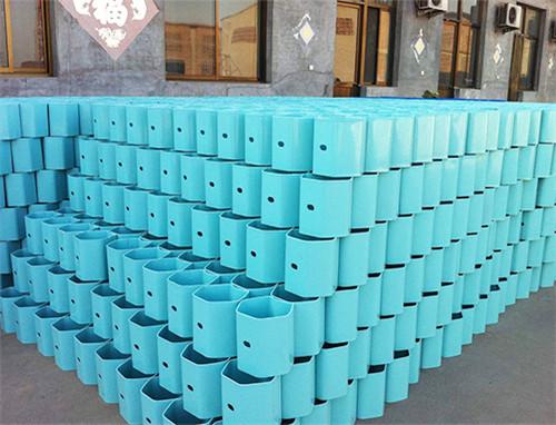 喷塑防阻块(蓝色)