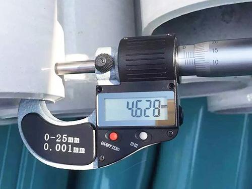 护栏立柱达标检测